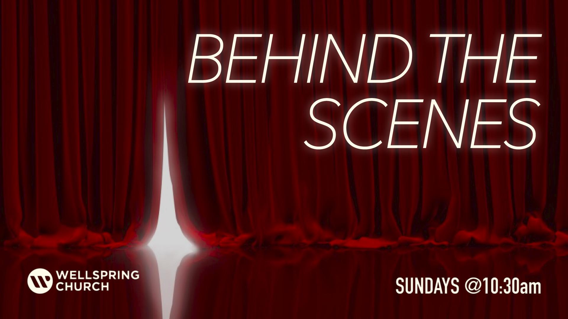 BehindTheScene web